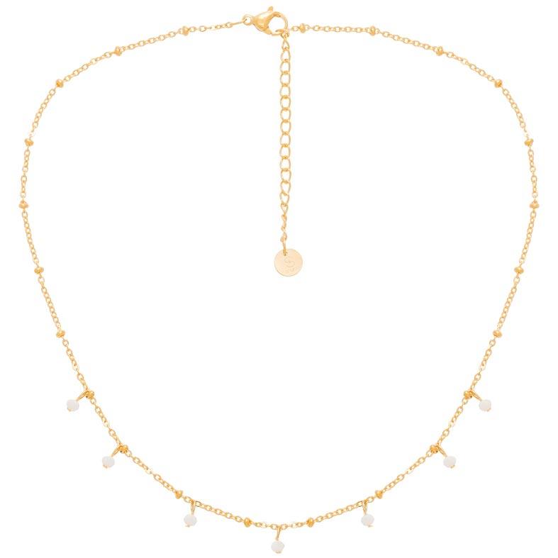 Yosiyo Pierres pr/écieuses /él/égant plaqu/é Or Collier en Alliage Boucles doreilles Bracelet Bague Ensemble de Bijoux pour lengagement