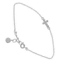 Bracelet croix et brillants (argent), Lucky Team (Bracelets)
