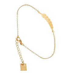 Bracelet Laurier (dorée jaune), Zag Bijoux