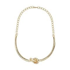 Collier nœud (doré)