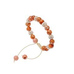 bracelet-shamballa-corail