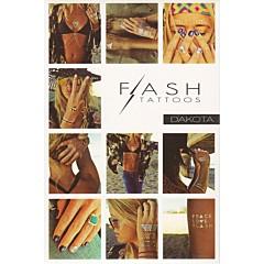 Tatouages éphémères Flash Tattoos (Dakota)